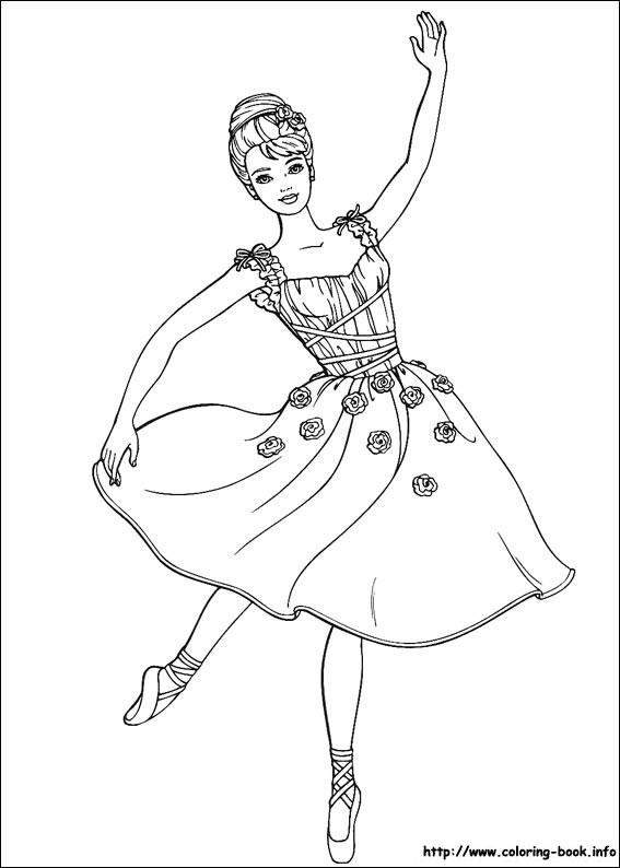 芭比公主裙子手绘图片
