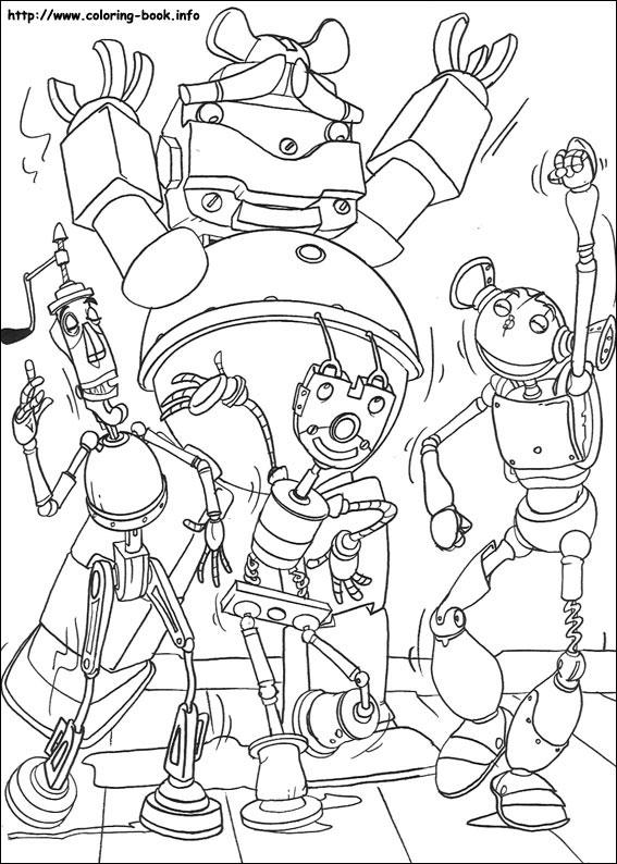 簡筆畫機器人大全樂園