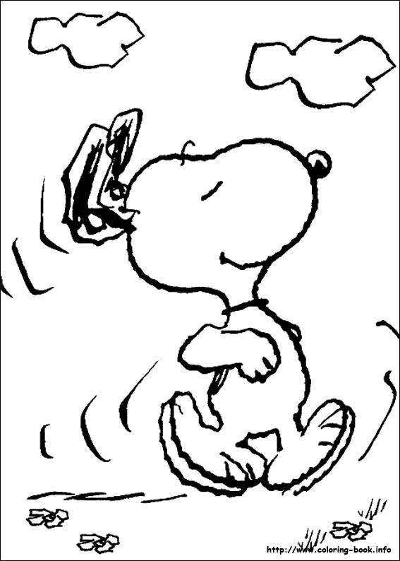 简笔画 卡通 >>; 史努比的简笔画10