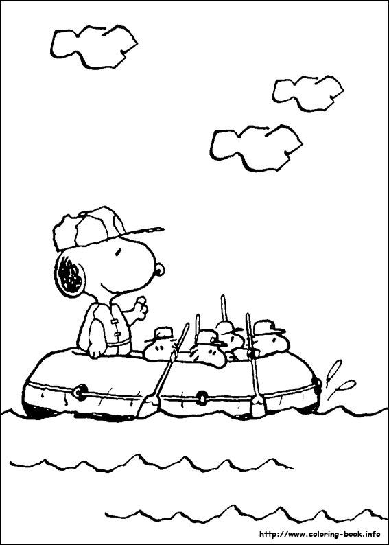 卡通简笔画:史努比5—幼儿园简笔画